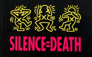 Thumbnail image for silence-equals-death-keith-haring-poster.jpg